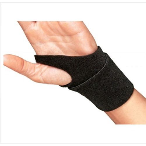 Cinch-Lock Wrist Support, Black (Foam/Aluminum)