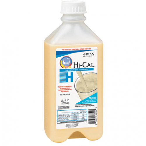 Hi Cal High Calorie Oral Supplement, 1000 mL