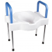 Bariatric Raised Toilet Seat with Legs Extra Wide