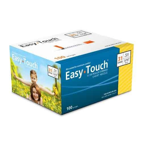 EasyTouch Insulin Syringe with Needle