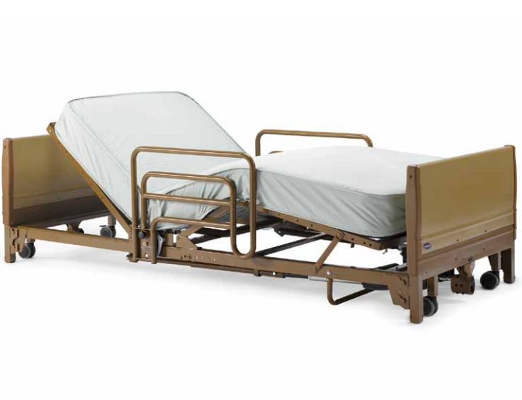 Invacare Full Electric Low Hospital Bed 5410low