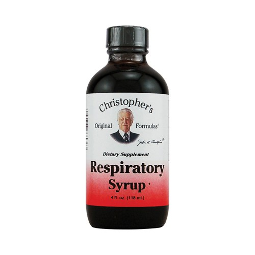 Dr Christophers Respiratory Syrup Dietary Supplement