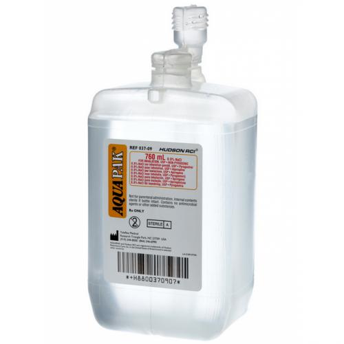 AquaPak Prefilled Nebulizer - Sterile Water