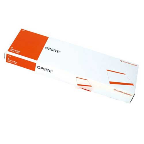 OpSite Incise Drape 5-1/2 x 10 Inch Transparent Film Dressing 4967
