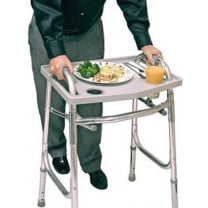 Jobar Tray on Standard Walker
