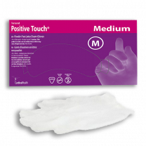 Positive Touch Latex Exam Gloves Powder Free - Non-Sterile