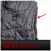 Quilted Nylon Heated Vest Heat Seal on Men's Vest