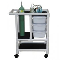 MJM PVC Emergency Crash Cart