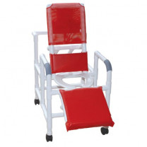 MJM PVC Reclining Shower Chair