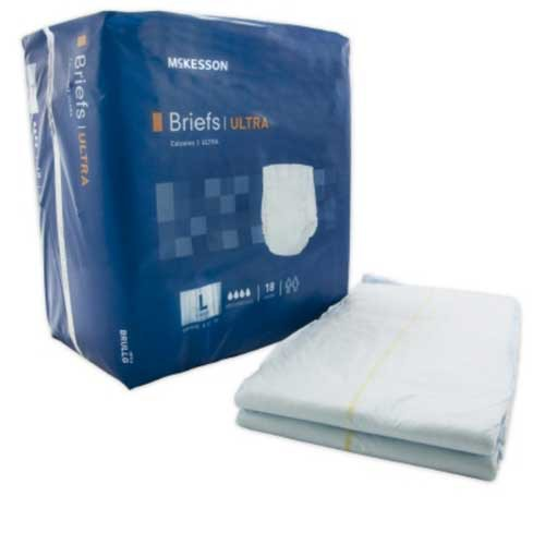 mckesson briefs ultra absorbency 6c4
