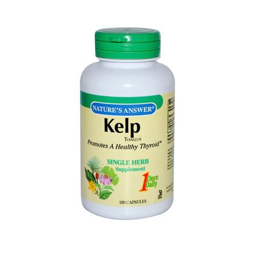 Nature's Answer Kelp Thallus   0124016