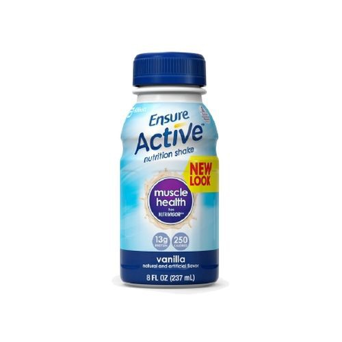 Ensure Active Muscle Health Nutrition Shakes Vanilla - 8 oz