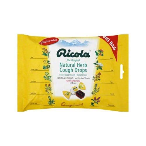 Ricola Cough Drops Original Herb