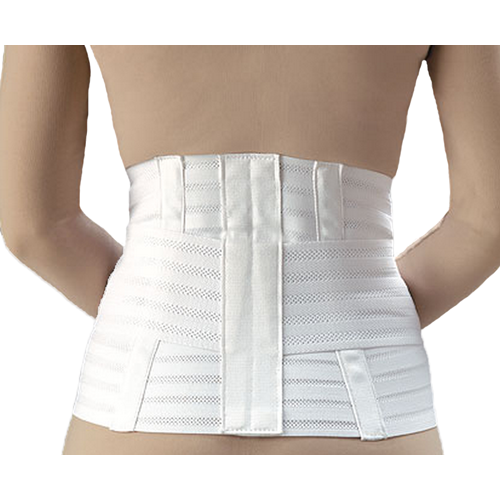 Lumbar Support with Abdominal Belt