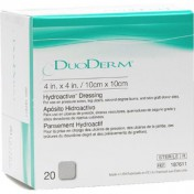 DuoDERM Hydroactive Dressing 187611 | Square 4 x 4 Inch by Convatec