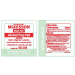 Medi-Pak Alcohol Prep Pad Wipes Label