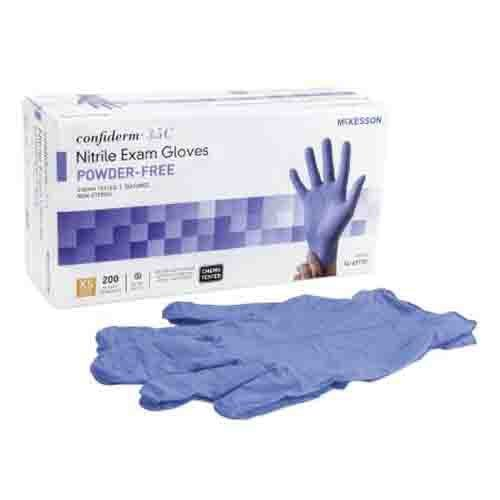 Confiderm Chemo Rated Nitrile Exam Gloves Powder Free - NonSterile