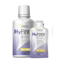 HyFIBER Liquid Fiber with FOS, Mild Citris, 1 oz & 32 oz.