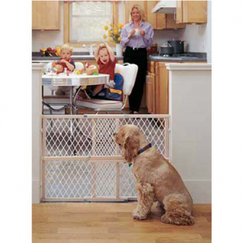 North States Easy Adjust Diamond Mesh Gate