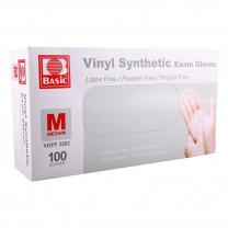 Basic Vinyl Synthetic Exam Gloves