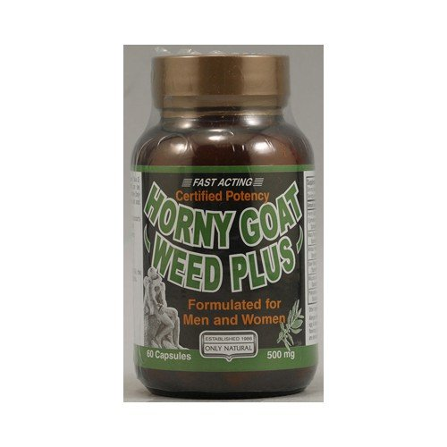 Only Natural Horny Goat Weed Plus 500 mg