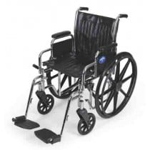 2000 Extra-Wide Wheelchair with Removable Desk Arms