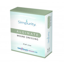 Safe N Simple Simpurity Alginate Wound Dressing
