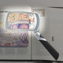 LED Lighted Rectangular Magnifier