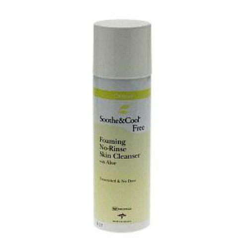 Soothe & Cool Free Foaming No Rinse Skin Cleanser