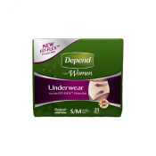 Kimberly Clark Depend Fit-Flex Incontinence Underwear for Women - Moderate to Maximum Absorbency