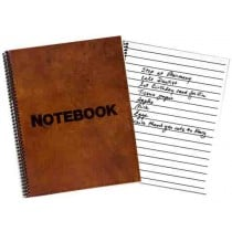 Low Vision 80-Page Notebook