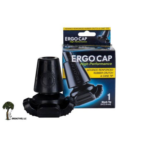 Ergocap High Performance Crutch Rubber Tips