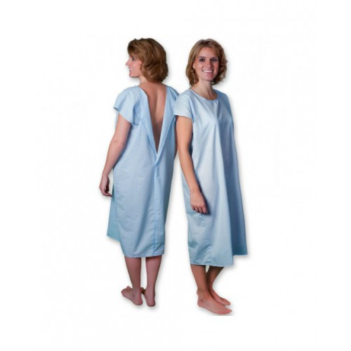 3/4 Open Patient Gown