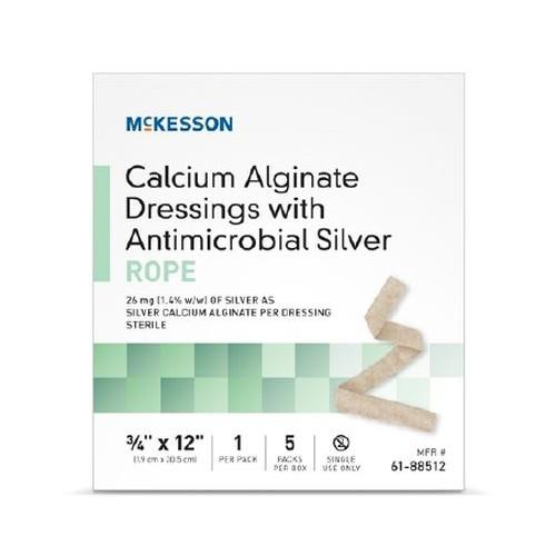 Calcium Alginate Dressing, 2 x 2 Inch - Sterile