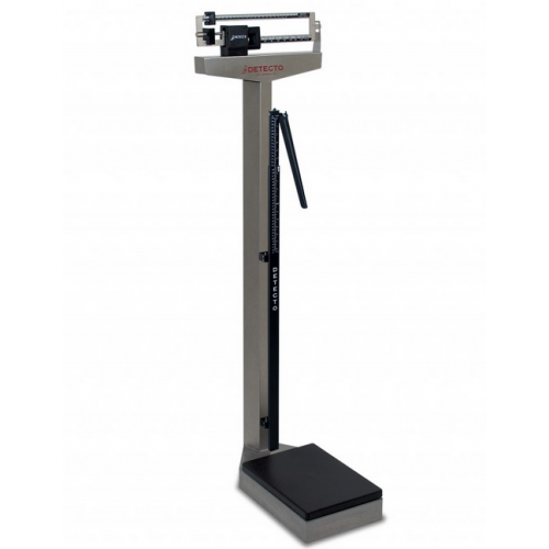 Detecto Stainless Steel Beam Scales with Height Rod