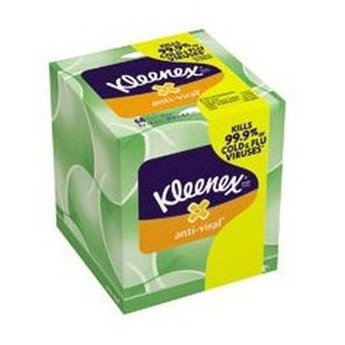 Kleenex Boutique Anti-Viral Facial Tissue