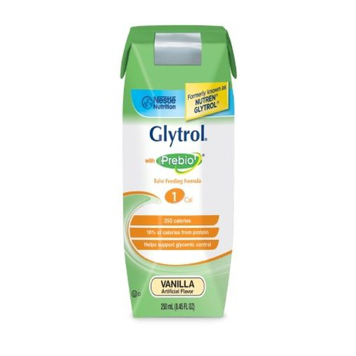 GLYTROL Nutritional Feeding Supplement Vanilla - 8.45 oz