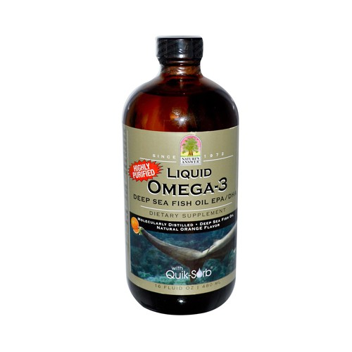 Liquid Omega 3 Fish Oil