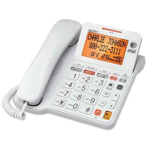 Corded Phone with Large Display