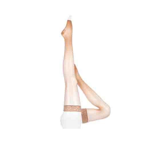 Mediven Sheer & Soft Women's Compression Socks Thigh High OPEN TOE 15-20 mmHg