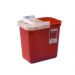 2 Gallon Red SharpSafety Sharps Container for Phlebotomy 8990SA