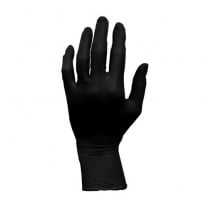 ProWorks Latex Exam Grade, Black, Powder Free Gloves
