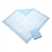 Medline Standard Protection Plus Underpads with Fluff Polymer Core - Moderate Absorbency - Great For Changing Table and Surfaces