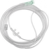 Nasal Cannula Curved and Non-Flared with 7 Foot Tubing