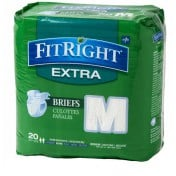 FitRight Extra Briefs Heavy Absorbency
