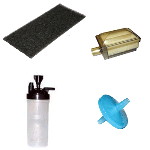 Mark 5 Nuvo Lite Oxygen Concentrator Replacement Parts, Filters, Accessories