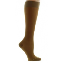 LEGLINE Sheer Compression Stockings Knee High CLOSED TOE 20-30 mmHg Wide Calf