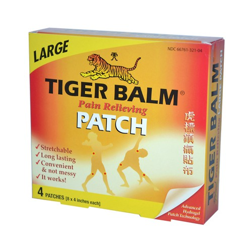 Tiger Balm Pain Relieving Large Patches
