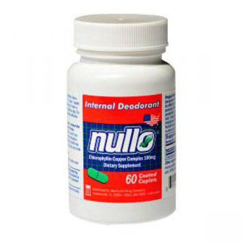 Dewitt NULLO Deodorant Tablets