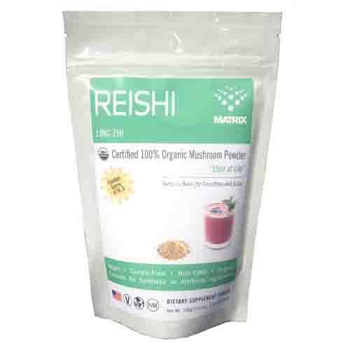 Reishi - Organic - Powder Energy Supplement